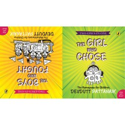 Two-Epics-in-One (The Girl Who Chose and The Boys Who Fought) -  A Flipbook  - Paperback