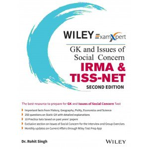 Wiley's ExamXpert GK and Issues of Social Concern  -  IRMA & TISS - NET, 2ed