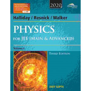 Wiley\'s Halliday / Resnick / Walker Physics for JEE (Main & Advanced), Vol 1, 3ed, 2020