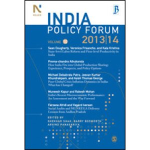India Policy Forum 2013-14 - Paperback , English