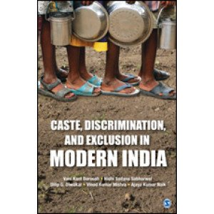Caste, Discrimination, and Exclusion in Modern India - Hardcover , English