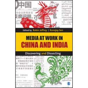 Media at Work in China and India - Hardcover , English