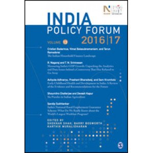 India Policy Forum 2016–17 - Paperback , English