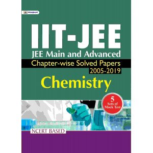 JEE-MAIN & ADVANCED CHAPTER-WISE SOLVED PAPERS: CHEMISTRY - Paperback