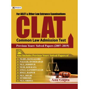 CLAT PREVIOUS YEARS SOLVED PAPERS (2007–2019) - Paperback, English