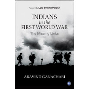 Indians in the First World War - Hardback, English