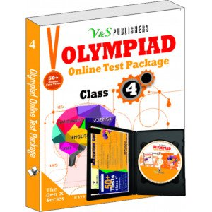 Olympiad Online Test Package Class 4 (Free CD With Activation Voucher)