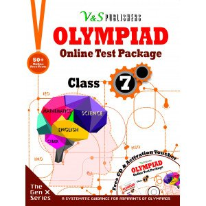 Olympiad Online Test Package Class 7 (Free CD With Activation Voucher)