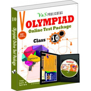 Olympiad Online Test Package Class 10 (Free CD With Activation Voucher)