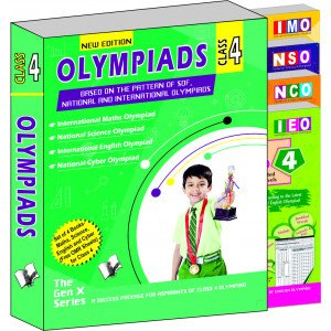 Olympiad Value Pack Class 4 (4 Book Set)