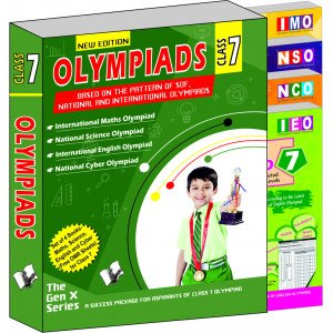Olympiad Value Pack Class 7 (4 Book Set)