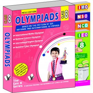 Olympiad Value Pack Class 8 (4 Book Set)