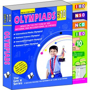 Olympiad Value Pack Class 10 (4 Book Set)