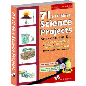 71+10 New Science Projects (With Cd)