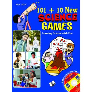 101+10 New Science Games (With CD)