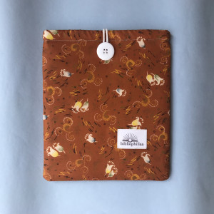 Tulip Print Book sleeve