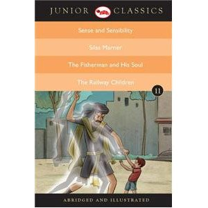 Junior Classic - Book-11 (Sense And Sensibility, Silas Marner, The Fisherman And His Soul, The Railway Children)