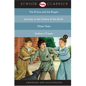 Junior Classic - Book-13 (The Prince And The Pauper, Journey To The Centre Of The Earth, Oliver Twist, Gulliver'S Travels)