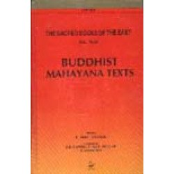 Buddhist Mahayana Texts The Sacred Books of the East: Vol. 49