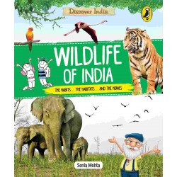 Discover India: Wildlife of India - Paperback