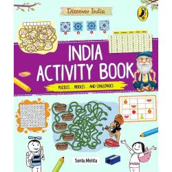 Discover India: India Activity Book  - Paperback
