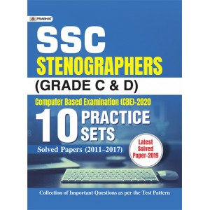 SSC STENOGRAPHERS (GRADE C & D) COMPUTER BASED EXAMINATION (CBE)-2020 (10 PRACTICE SETS) - Paperback