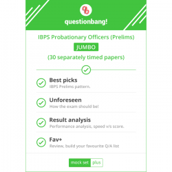 IBPS Probationary Officers & Management Trainees (Prelims) JUMBO Pack