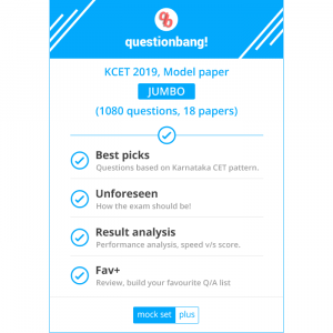 KCET 2019 - Jumbo pack, 18 Model question papers