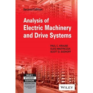 Analysis of Electric Machinery and Drive Systems, 2ed
