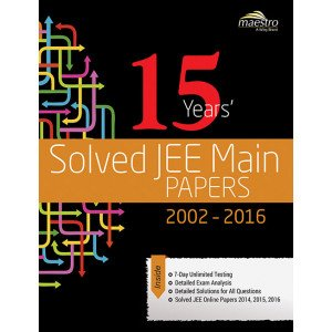 Wiley\'s 15 Years\' Solved JEE Main Papers, 2002-2016