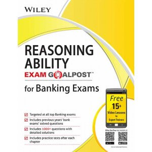 Wiley\'s Reasoning Ability Exam Goalpost for Banking Exams