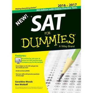 NEW SAT For Dummies, with Online Practice Tests, 9ed