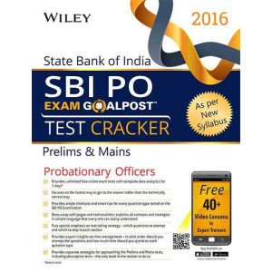 Wiley\'s State Bank of India Probationary Officer (SBI PO) Exam Goalpost Test Cracker