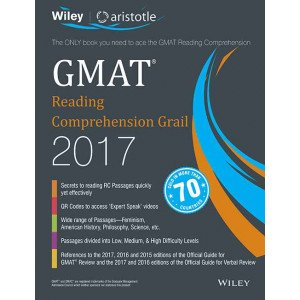 Wiley\'s GMAT Reading Comprehension Grail 2017