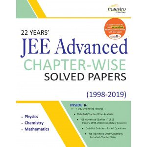 Wiley\'s 22 Years\' JEE Advanced Chapter-Wise Solved Papers (1998 - 2019)