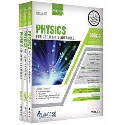 Plancess Study Material Physic for JEE Main & Advanced, Class 12, Set of 3 Books, 2ed
