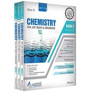 Plancess Study Material Chemistry for JEE Main & Advanced, Class 12, Set of 3 Books, 2ed