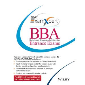Wiley\'s ExamXpert BBA (Bachelor of Business Administration) Entrance Exams