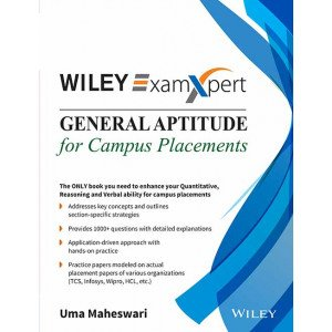 Wiley\'s ExamXpert General Aptitude for Campus Placements