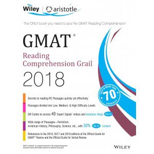 Wiley\'s GMAT Reading Comprehension Grail 2018