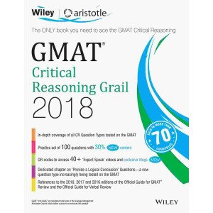 Wiley\'s GMAT Critical Reasoning Grail 2018
