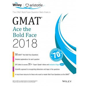 Wiley\'s GMAT Ace the Bold Face 2018
