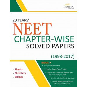 Wiley\'s 20 Years\' NEET Chapter-Wise Solved Papers (1998-2017)