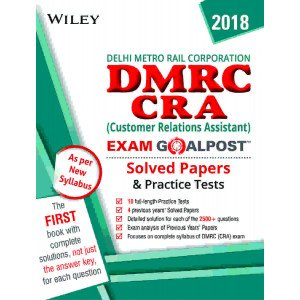 Wiley\'s DMRC CRA Exam Goalpost Solved Papers and Practice Tests