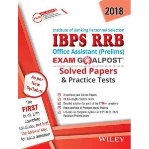 Wiley\'s IBPS RRB Office Assistant (Prelims) Exam Goalpost Solved Papers & Practice Tests