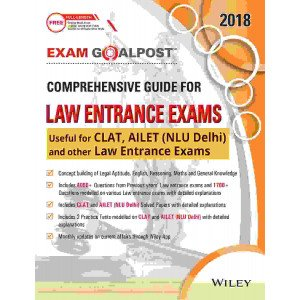 Wiley\'s Exam Goalpost Comprehensive Guide for Law Entrance Exams