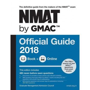 NMAT by GMACTM Official Guide 2018