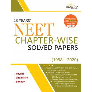 Wiley\'s 23 Years\' NEET Chapter - Wise Solved Papers (1998 - 2020)