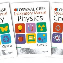Oswaal CBSE Laboratory Manual Class 12 (Set of 3 Books ) Physics, Chemistry & Biology (For March 2020 Exam)