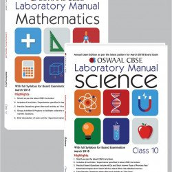 Oswaal CBSE Laboratory Manual Class 10 (Set of 2 Books ) Science & Mathematics (For March 2020 Exam)